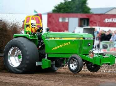 Power tractor John Deere