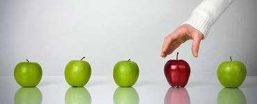 κόκκινο και πράσινα μήλα